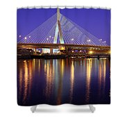 Zakim At Twilight II Shower Curtain