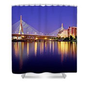 Zakim Twilight Shower Curtain by Rick Berk