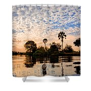 Zambezi Sunset Shower Curtain