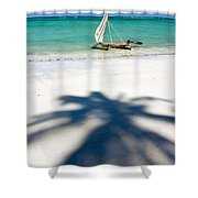 Zanzibar Beach Shower Curtain