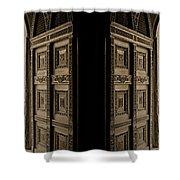 Zanzibar Doors Shower Curtain