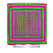 Zap To Rap Shower Curtain