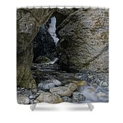 Zapata Falls Shower Curtain