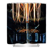 Zapped Shower Curtain