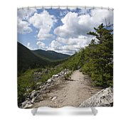 Zealand Notch - White Mountains New Hampshire Usa Shower Curtain