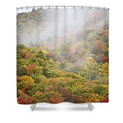 Zealand Road - White Mountains New Hampshire Shower Curtain