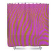 Zebra Shmebra Shower Curtain