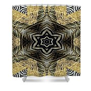 Zebra Vi Shower Curtain