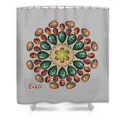 Zeerkl Of Eggs Shower Curtain