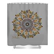 Zeerkl Of Music Shower Curtain