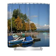Zell Am See The Elements In Austria Shower Curtain