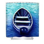 Zen Boat Shower Curtain