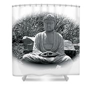 Zen Shower Curtain by Michael Lucarelli