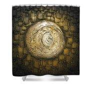 Zen Moon Shower Curtain