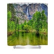 Zen River Shower Curtain