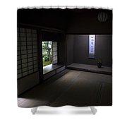 Zen Tea Room Of Koto-in Temple -- Kyoto Japan Shower Curtain