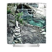 Zen Water Italy Shower Curtain