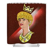 Zendaya Drawing Illustration  Shower Curtain