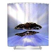 Zenith Of Radiance Shower Curtain
