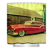 Zephyr Fuel Shower Curtain