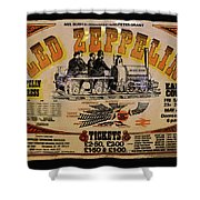 Zeppelin Express Shower Curtain by David Lee Thompson