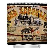 Zeppelin Express Shower Curtain
