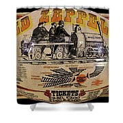 Zeppelin Express Work B Shower Curtain by David Lee Thompson