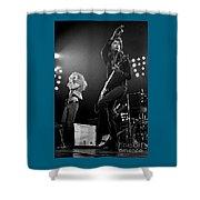 Zeppelin Rocks Shower Curtain