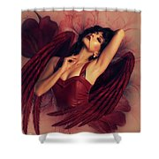 I Promise To Love You For Eternity Shower Curtain