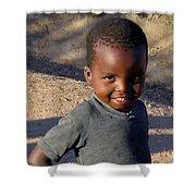 Zimbabwe Warmth Shower Curtain