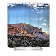 Zion At Sunset #3 Shower Curtain
