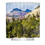 Zion Canyon National Park Utah Shower Curtain