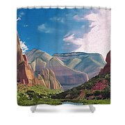 Zion Cliffs Shower Curtain