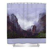 Zion Fog Shower Curtain