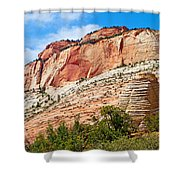 Zion Hike 1 View 2 Shower Curtain