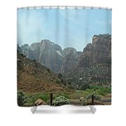 Zion National Park 3 Shower Curtain
