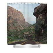 Zion National Park 4 Shower Curtain