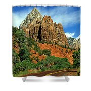 Zion National Park Utah Shower Curtain