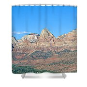 Zion National Park, Valley View Shower Curtain