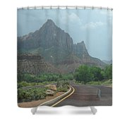 Zion National Part 2 Shower Curtain