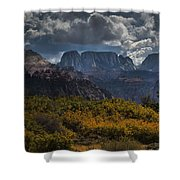 Zion-rock On Shower Curtain