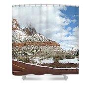 Crossroads, Zion Valley Shower Curtain