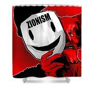 Zionism Devil Shower Curtain