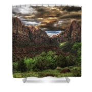 Zion's Morning Shower Curtain