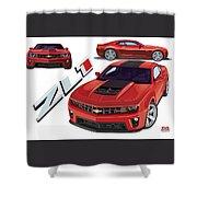 ZL1 Shower Curtain