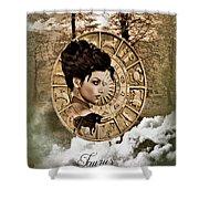 Zodiac Signs - Taurus Shower Curtain