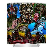 Zombi 2 Shower Curtain