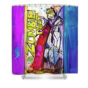 Zombie Dust By 3 Floyds Brewing Co.  Shower Curtain