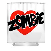 Zombie Love Shower Curtain