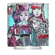 Zoni.girl Haute Couture Shower Curtain